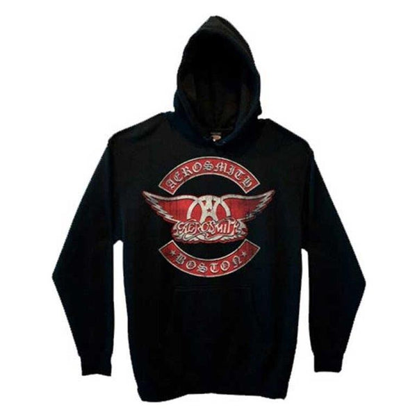 AEROSMITH - Boston /  Hooded Sweatshirt