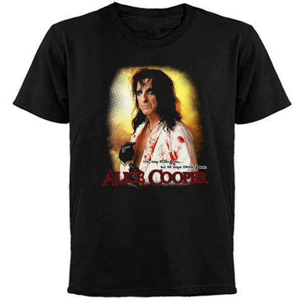 ALICE COOPER  / They Keep Killing Him / T-Shirt