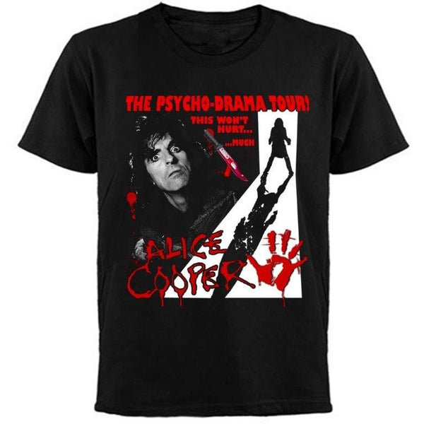 ALICE COOPER  / THE PSYCHO DRAMA TOUR  2007 / T-Shirt