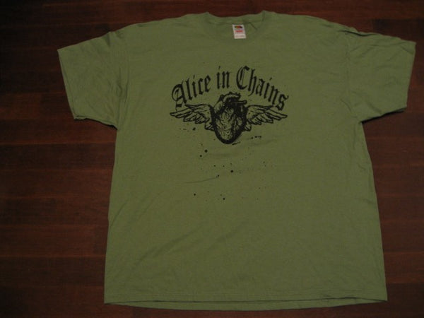 Alice In Chains - Winged Heart- Rare Vintage T-Shirt