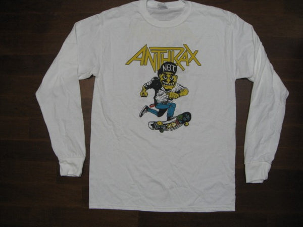 Anthrax - Not Man Riding Skateboard - Long Sleeve Shirt