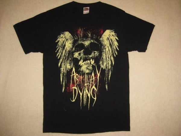 AS I LAY DYING /  Winged Skull & Metal Logo- T-Shirt
