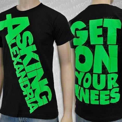 Asking Alexandria  / Get on Your Knees / T-Shirt