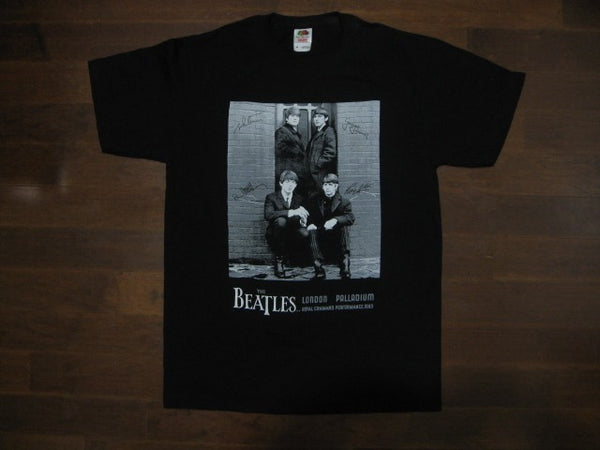 BEATLES- AT THE LONDON PALLADIUM 1963 VINTAGE- T-Shirt
