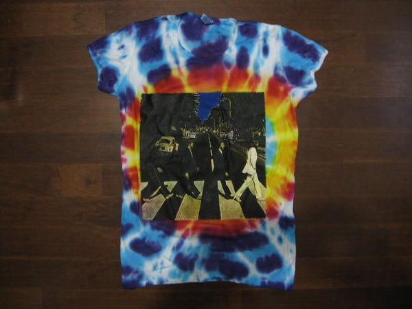 BEATLES- Abbey Road / Tie-Dye / Girls / Baby Doll T-Shirt