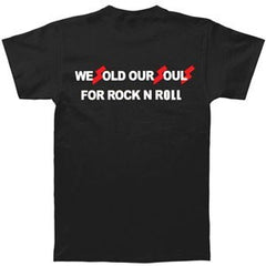 Black Sabbath- We Sold Our Souls For Rock N Roll - Two Sided Print - T-Shirt