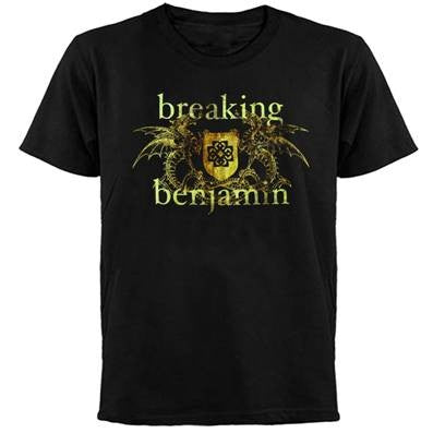 Breaking Benjamin Double Dragon T-Shirt