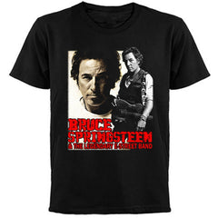 BRUCE SPRINGSTEEN - TOUR 2007-T-Shirt Two Sided Print
