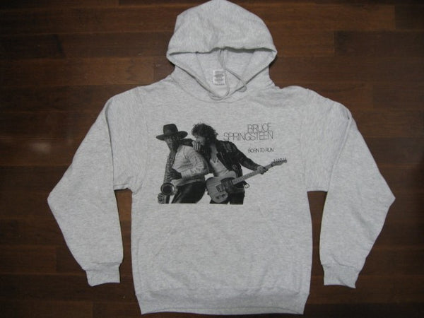 Bruce Springsteen- Born To Run / Two Sided Print- Hoodie- Unisex