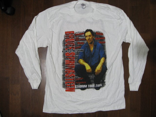 BRUCE SPRINGSTEEN - Tour 2003 /  STADIUM TOUR/ Long  Sleeve