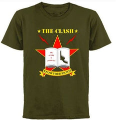 CLASH - North American Campaign 1982 -T-shirt