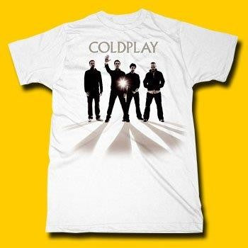 COLDPLAY- GROUP  / T-shirt