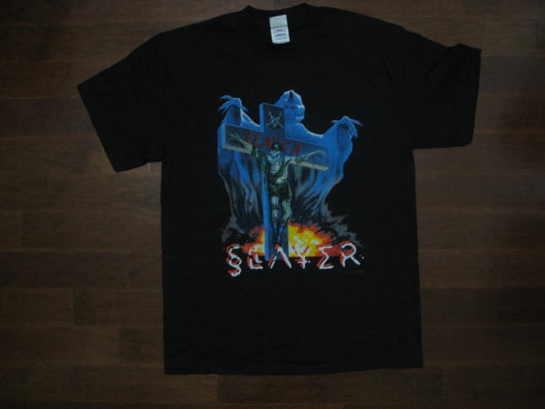 SLAYER - Crucified Skeleton Soldier - T-Shirt