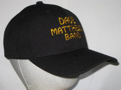 DAVE MATTHEWS BAND - EMBROIDERED BASEBALL CAP - Adjustable Velcro Back -Unisex