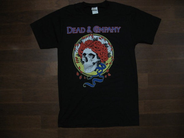 Grateful Dead/ Dead & Company / Skull with roses