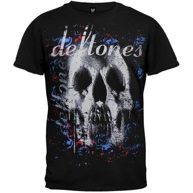 DEFTONES - SKULL AND  ROSES -  T-shirt