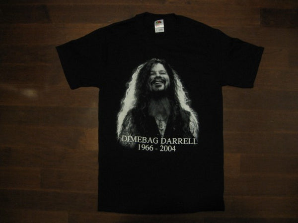 DIMEBAG DARRELL - Up Close  - T-Shirt / Printed Front And Back