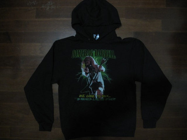 DIMEBAG DARRELL- He Came To Rock / Hooded  Sweatshirt