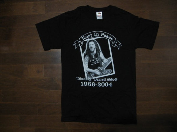 DIMEBAG DARRELL - Rest In Peace  - T-Shirt / Printed Front And Back