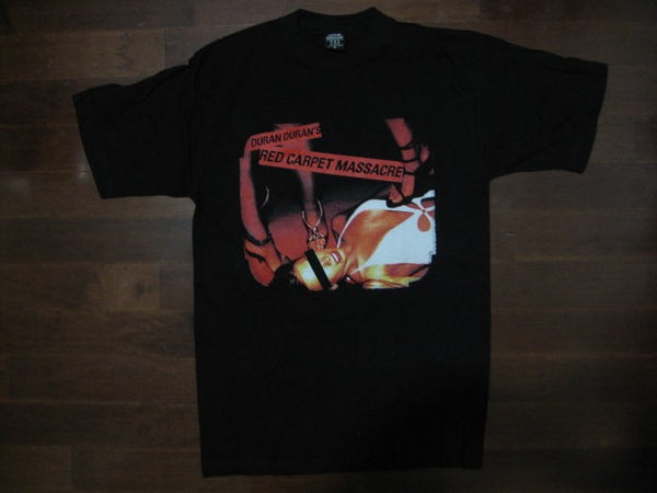 DURAN DURAN-Red Carpet Massacre Tour 2008-Printed Two Sides Vintage T-Shirt