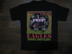 EAGLES - Long Road Out Of Eden -Printed Front And Back- T-Shirt