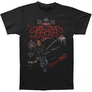 FALL OUT BOY- 2007 Tour Shirt. Two Sided Print