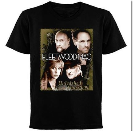 Fleetwood Mac -Unleashed Tour 2009- T-shirt / Printed Front And Back