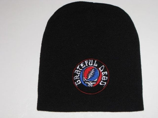 Grateful Dead - Steal Your Face -  Embroidered Beanie - One Size Fits All