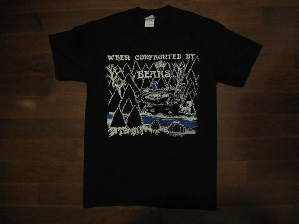 Grateful Dead - When Confrorted By Bears- Black - T-Shirt