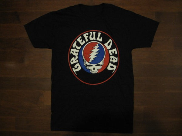 Grateful Dead - Steal Your Face -  Round Logo- T-Shirt