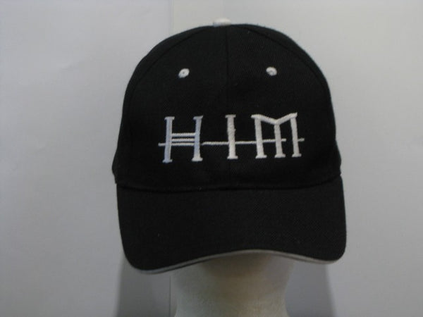 HIM - EMBROIDERED BASEBALL CAP - Adjustable Velcro Back -Unisex