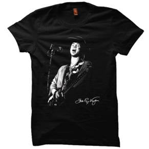 STEVIE RAY VAUGHAN - Up Close -  T-Shirt - UNISEX
