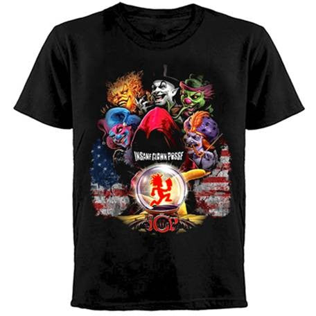 Insane Clown Posse -Group - T-shirt