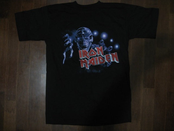 Iron Maiden- Give Me Ed Till I'm Dead Tour/ Printed Front And Back /  T-shirt