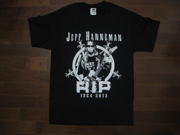 SLAYER - Jeff Hanneman RIP 1964 - 2013 Tribute Photo - T-Shirt