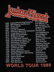 JUDAS PRIEST - British Steel World Tour 1980- Long Sleeve Shirt