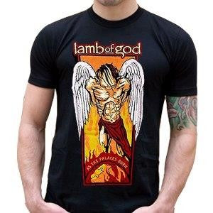 LAMB OF GOD - As The Palaces Burn  -T-shirt