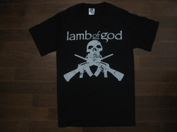 LAMB OF GOD - SKULL AND GUNS /  T-shirt