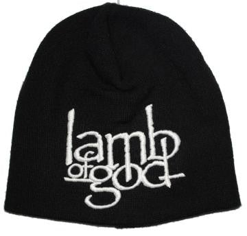 LAMB OF GOD- Logo Beanie