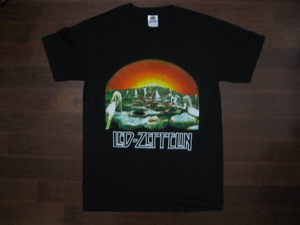 Led Zeppelin -  Houses Of The Holy Above Logo - T-shirt