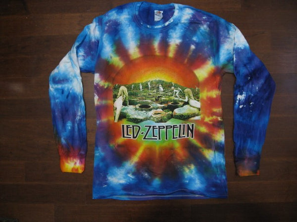 Led Zeppelin- Tie-Dye Long Sleeve Shirt