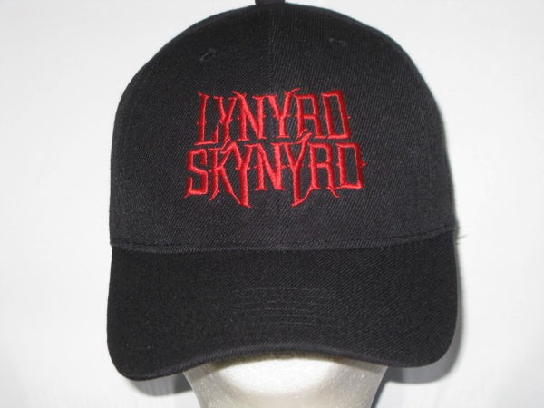 LYNYRD SKYNYRD - EMBROIDERED BASEBALL CAP - Adjustable Velcro Back -Unisex