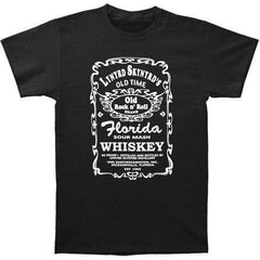 Lynyrd Skynyrd- Florida Sour Mash Whiskey Label- Two Sided Print - Tshirt