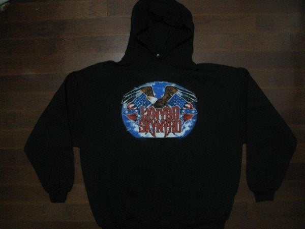 Lynyrd Skynyrd -Old Rock N' Roll Brand- Hoodie Two Sided Print