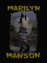 MARILYN MANSON - The All American Rocker- Rare VINTAGE!  T-Shirt