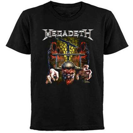 Megadeth- Headcrusher-  T-shirt