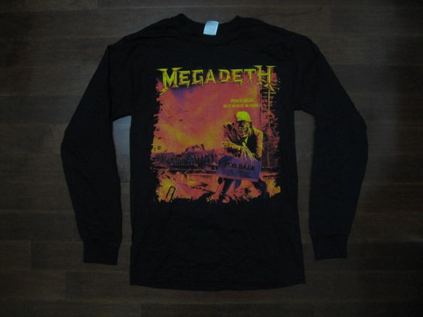 MEGADETH / PEACE SELLS... BUT WHO'S  BUYING? /  Long Sleeve- Two Sided Print