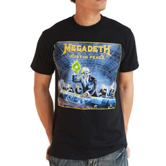 Megadeth-‏ Rust In Peace -T-shirt - Two Sided Print