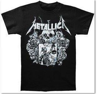 METALLICA- Justice For All Logo- T-Shirt