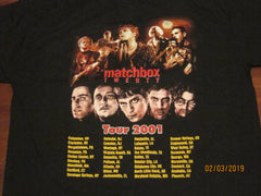 MATCHBOX 20 - Tour 2001 - t-Shirt - Two Sided Print